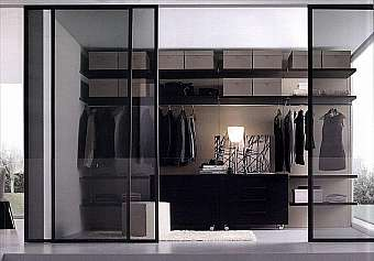 Гардеробная JESSE SPA Plurimo sistema armadi Walk-in-closet-4